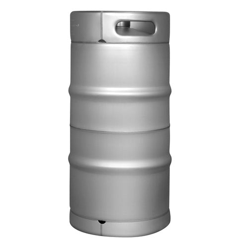 Stainless Steel US Sanke Keg - 7.75 gal.