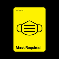 Double Sided Mask Required