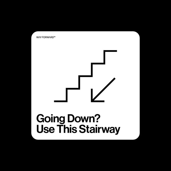 Going Down? Use This Stairway