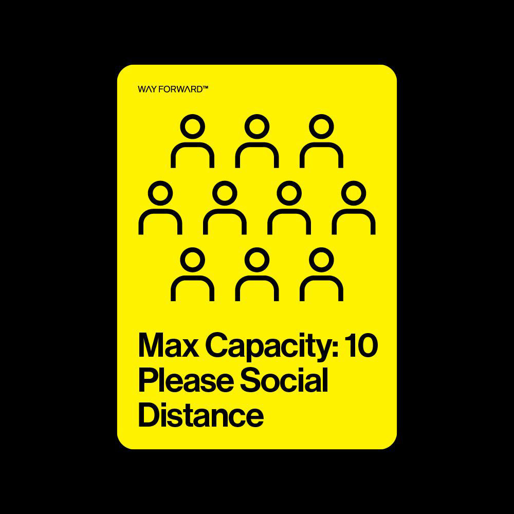 Maximum Capacity Shared Space Ten