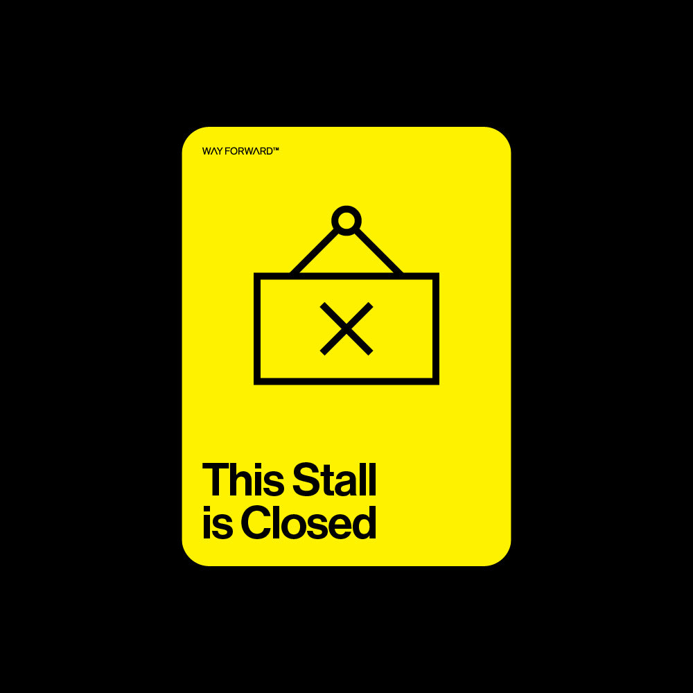 This Stall is Closed