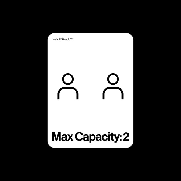 Bathroom Max Capacity Two