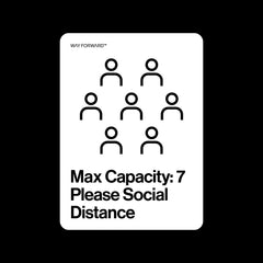 Maximum Capacity Shared Space Seven