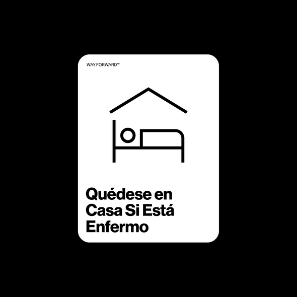 Stay Home If Sick (Spanish)