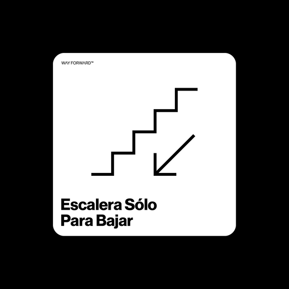 Going Down? Use This Stairway (Spanish)