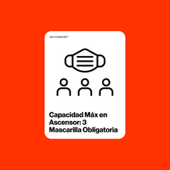 Maximum Elevator Capacity Three (Spanish)