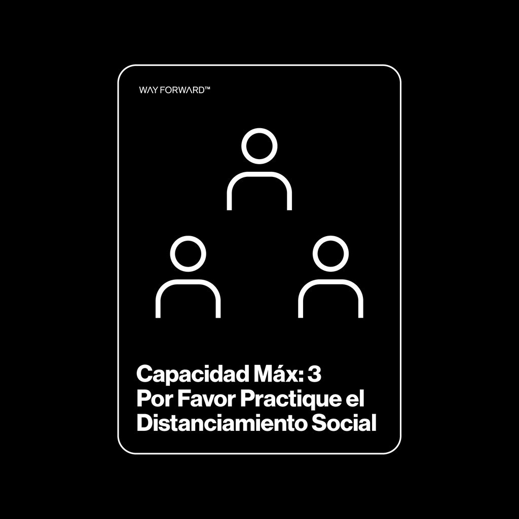 Maximum Capacity Shared Space Three (Spanish)