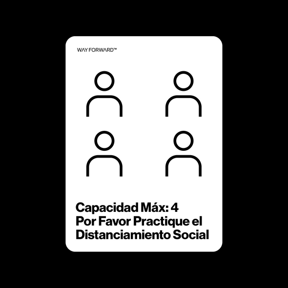 Double Sided Maximum Capacity Shared Space Four (Spanish)