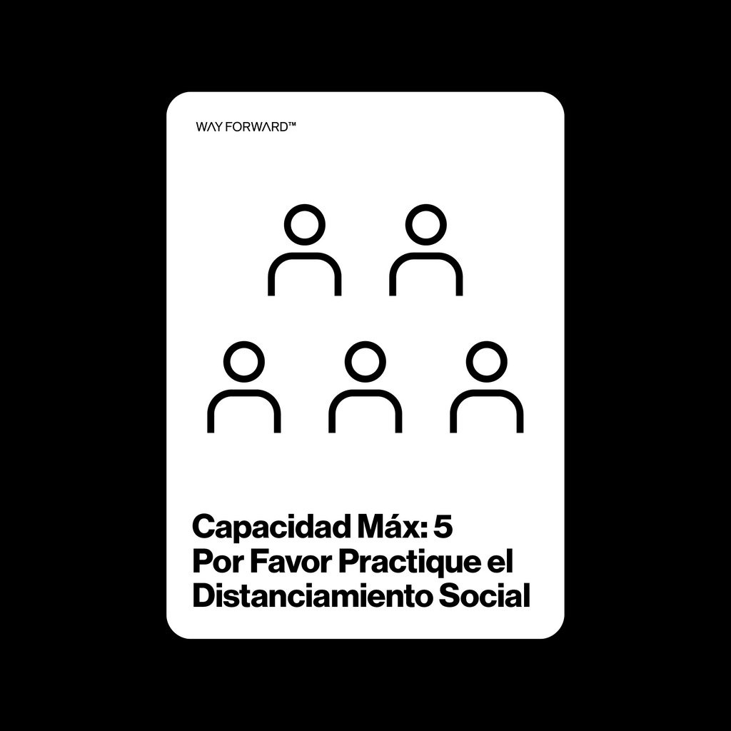 Double Sided Maximum Capacity Shared Space Five (Spanish)