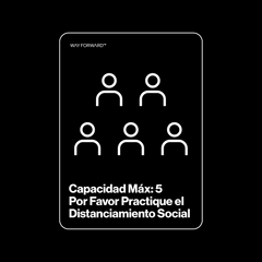 Maximum Capacity Shared Space Five (Spanish)