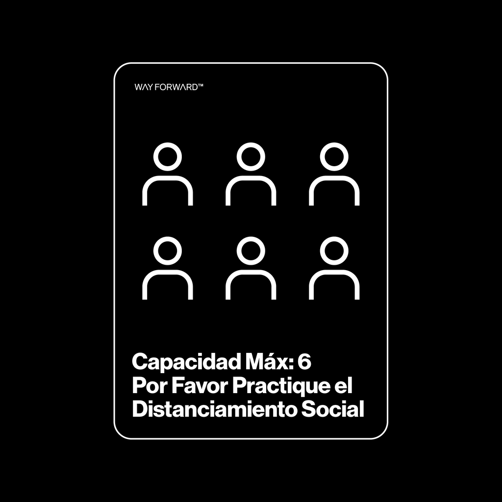 Double Sided Maximum Capacity Shared Space Six (Spanish)