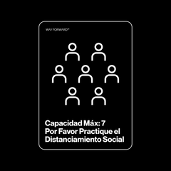 Double Sided Maximum Capacity Shared Space Seven (Spanish)