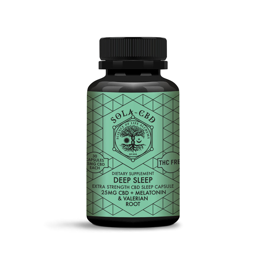 Deep Sleep CBD Capsules