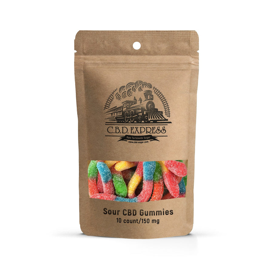 10 Pack Sour Neon Worms