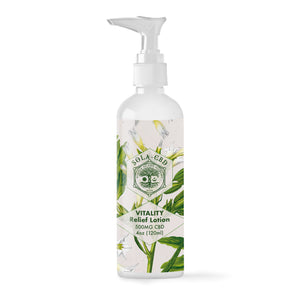 Vitality 500mg CBD Relief Lotion