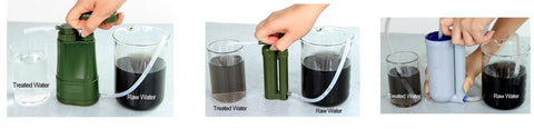 Portable Water Filter for Emergency/Disaster