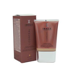 Image Skincare I Conceal Flawless Foundation Broad-Spectrum SPF 30 Sunscreen Natural 1oz