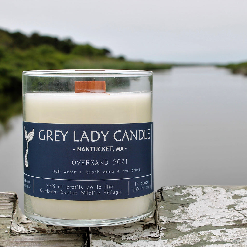 Grey Lady Candle - Nantucket, MA - Oversand 2021