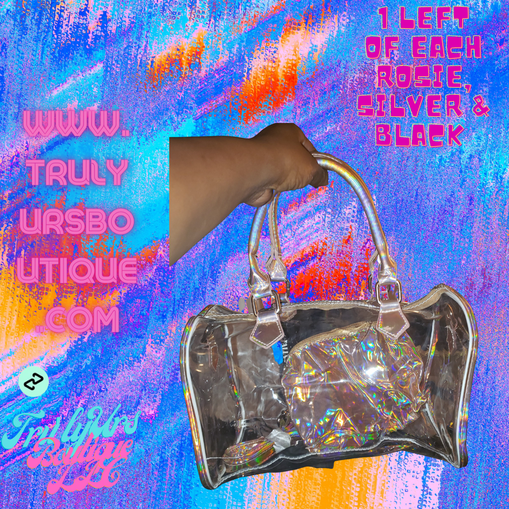 """See Thru U"" Mini Duffle Bag"