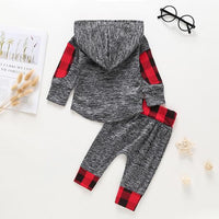 Boys 2PC Hooded Sweatsuit