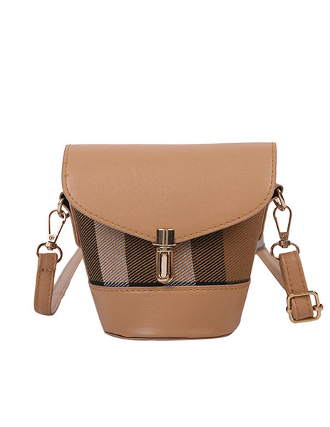 Little Girls Crossbody- Striped