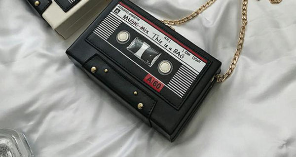 """Cassette Tape"" Crossbody Bag"