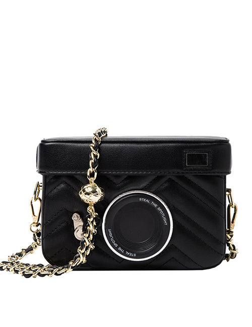 """Pose For The Camera"" Novelty Crossbody Bag"
