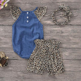 """Wild Thang"" 3- Piece Infant Set"