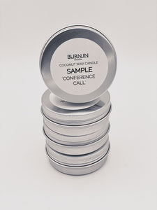 'Conference Call' Sample Tin
