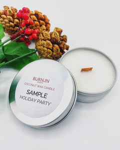 'Holiday Party' Sample Tin