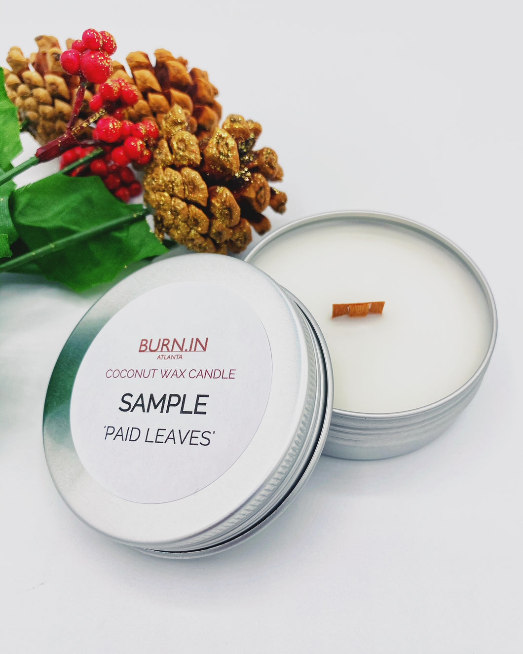 'Paid Leaves' Sample Tin