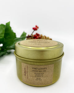 'Paid Leaves' Travel Tin
