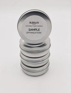 'Optimization' Sample Tin
