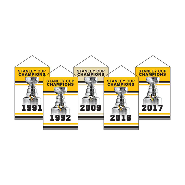Pittsburgh Penguins Rafter Banner Replica Pack