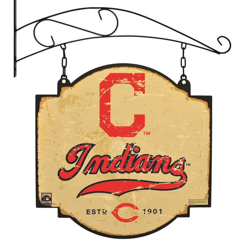 Cleveland Indians Tavern Sign