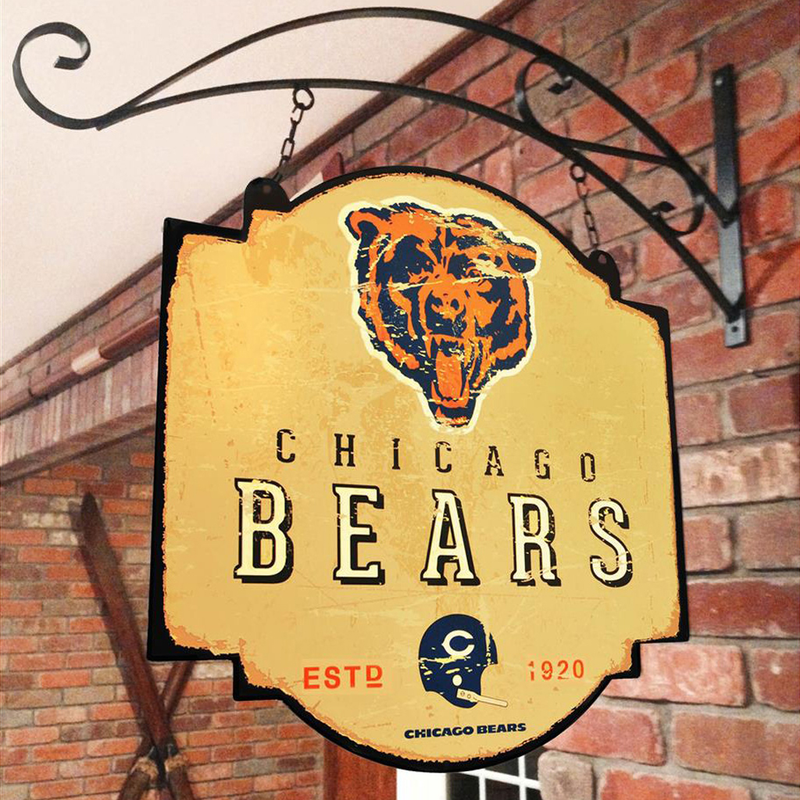 Chicago Bears Tavern Sign