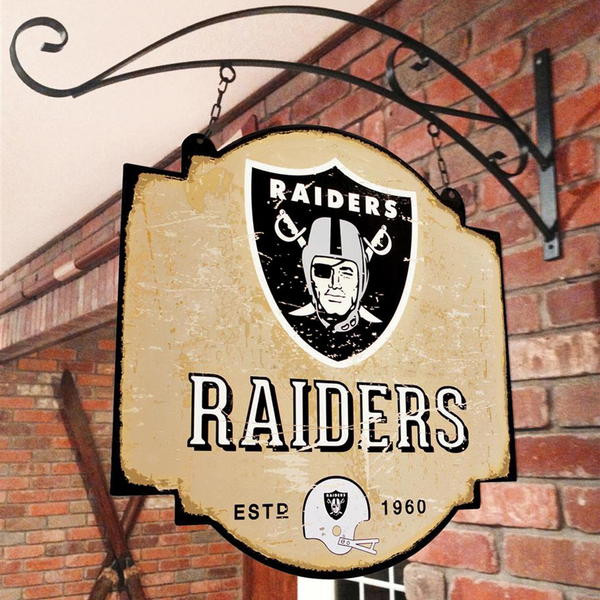 Las Vegas Raiders Tavern Sign