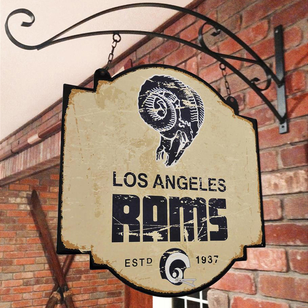 Los Angeles Rams Tavern Sign