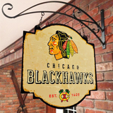 Chicago Blackhawks Tavern Sign