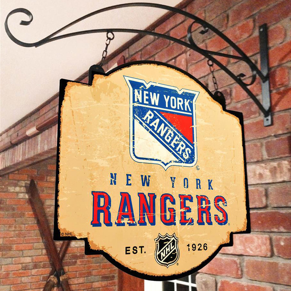 New York Rangers Tavern Sign