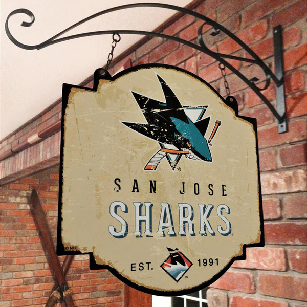 San Jose Sharks Tavern Sign