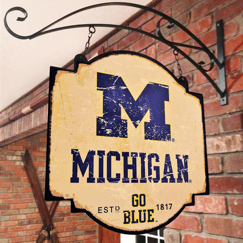 Michigan University Vintage Sign