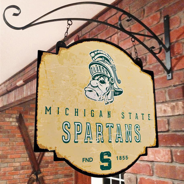Michigan State University Vintage Sign