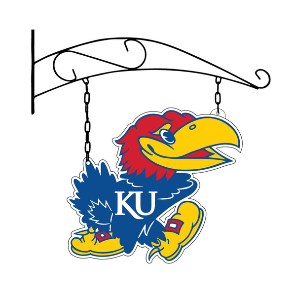 Kansas Jayhawk Sign