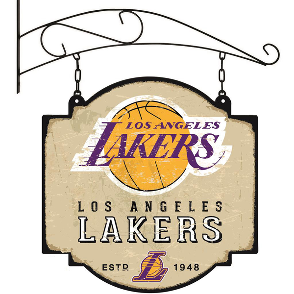 Los Angeles Lakers Tavern Sign