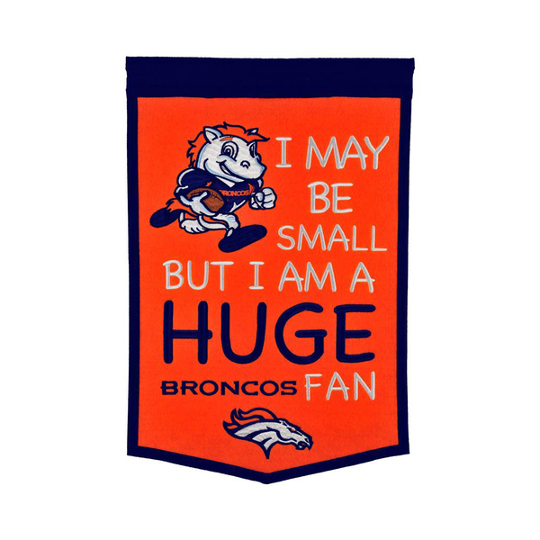 Denver Broncos Lil Fan Traditions Banner