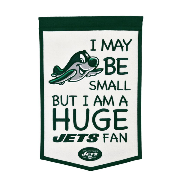New York Jets Lil Fan Traditions Banner