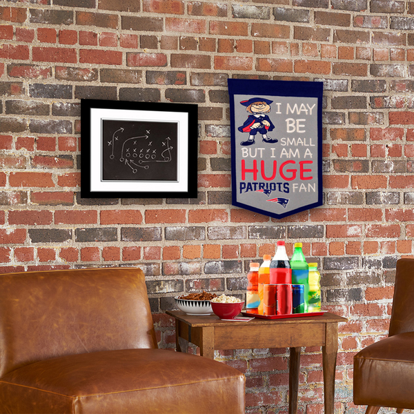 New England Patriots Lil Fan Traditions Banner