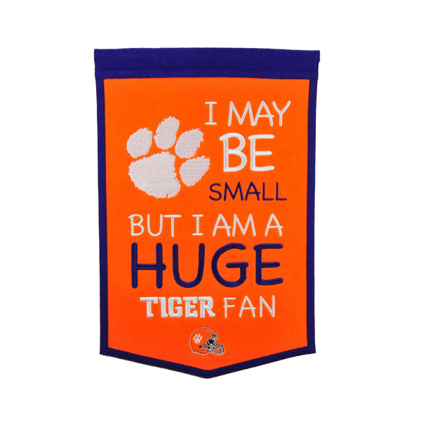 Clemson Lil Fan Traditions Banner