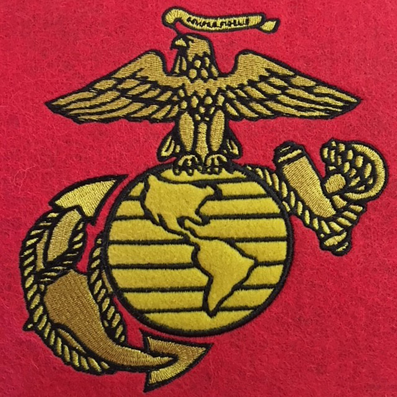 US Marine Corps Lil Fan Traditions Banner